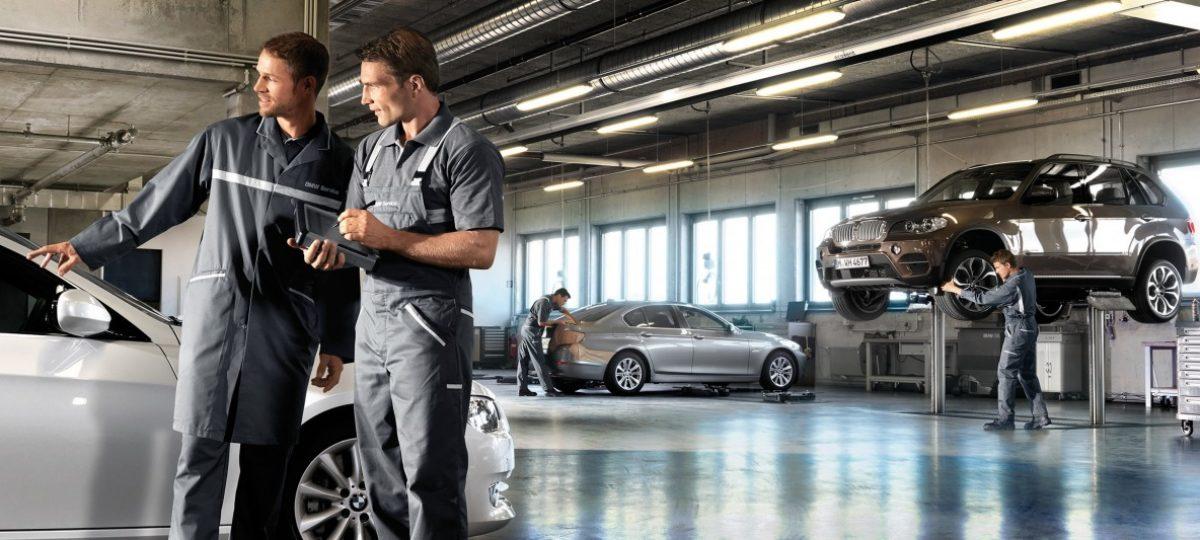 BMW servis